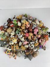 Lps littlest pet shop Huge toy lot 122 figures animal dog cat bird horse frog