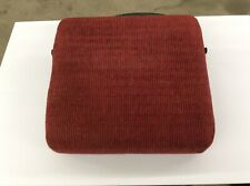87 88 89 90 91 FORD F150 F250 F350 FRONT BENCH SEAT ARMREST RED CLOTH 1987-1991