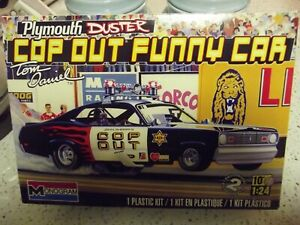 Monogram/ Revell Plymouth Duster Cop Out Funny Car. 1/24.