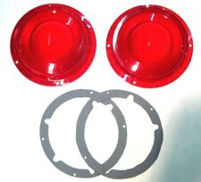 1957 57 FORD THUNDERBIRD T BIRD TAILLIGHT LENSE AND GASKET KIT  NEW