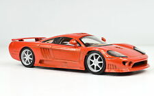 Saleen S7 échelle 1:43 orange de atlas die-cast