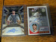 (7) American League Auto Cards