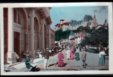 CHATEL-GUYON (63) ETABLISSEMENT THERMAL & SPLENDID HOTEL animés en 1913