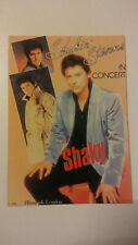 Shakin Stevens Shaky in concert pop vintage music postcard post CARD postcarte