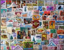 World wide Foreign Countries-500 Different Stamps-Large & Small