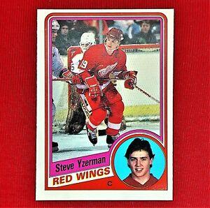 Steve Yzerman Rookie - 1984/85 - O-Pee-Chee - Detroit Red Wings - NHL - #67