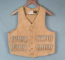 9947ac54f5c17 Vintage 1930s Duxbak Shooting Field Vest Buckle-Back Shell Pockets Hunting  Trap
