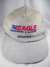 Eagle Hardware & Garden Sylvania Gray Adjustable Baseball Cap Hat Great