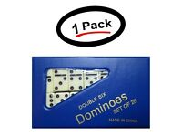 1 Double Six Mini Dominoes Dominos Set of 28 Tiles Each (1 Pack)- New- Free Ship