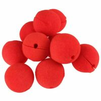 1X(10Pcs Adorable Red Ball Sponge Clown Nose for Party Wedding Decoration Ch GN8