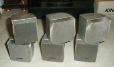 Lot-3 BOSE Lifestyle Acoustimass Home Theater Silver Double Cube Speakers