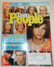 Teen People Magazine Ashton Kutcher & Eminem February 2003 030515R