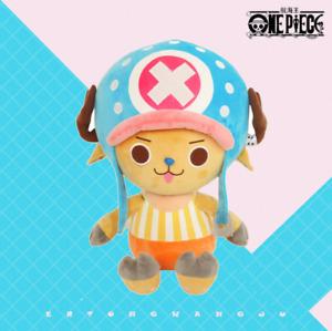 Anime One Piece Tony Tony Chopper Plush Toy Cartoon Stuffed Toys Doll 30CM Gift