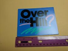 Hallmark Over the Hill Birthday Invitation Card Unused Blue/Black/Pink/Green