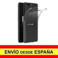 Funda Silicona para ONEPLUS 5 / ONE PLUS 5 Carcasa Transparente ¡España! a2860