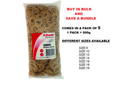 5 x Esselte Rubber Bands Pack - 7 Different Sizes available