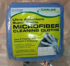 Microfiber cleaning cloths 12 x 12in   6ct.