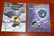 Bd- Réseau Sentinelles - 2 albums EO voir détail dans l'annonce.