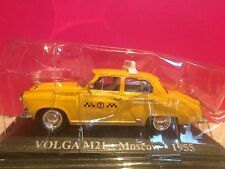 SUPERBE TAXI VOLGA M21 MOSCOW 1955 1/43 SOUS BLISTER B6