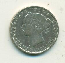 Newfoundland 10 cents 1873 VG