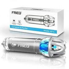 Car Air Purifier, FRiEQ Car Air Freshener and Ionic Air Purifier Remove Dust,