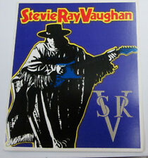 STEVIE RAY VAUGHAN STICKER COLLECTiBLE RARE VINTAGE 90'S METAL  WINDOW DECAL