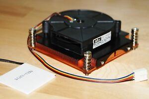 Solid Copper Turbo Fan Radiator cpu heatsink cooler for Peltier, LED up to 200W