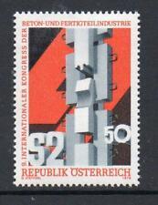 Austria Gomma integra, non linguellato 1978 SG1818 9TH INT calcestruzzo & prefabbricazione CONGRESSO DELL'INDUSTRIA