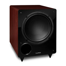 Fluance DB10MA 10-inch Low Frequency Front Firing Powered Subwoofer Home Theater