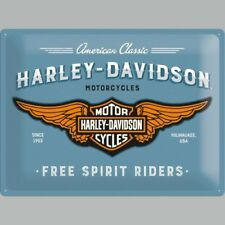 HARLEY-DAVIDSON SPIRITO LIBERO TRATTORINI motociclette 3D GRANDE IN METALLO