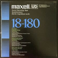 Maxell UD 18-180 (N) 7'' 3600 ft Reel to Reel Tape EXCELLENT