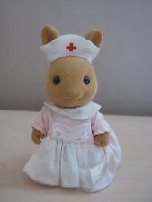 Sylvanian Families Vintage 1990s TOMY Nurse Emily Nightingale (A)