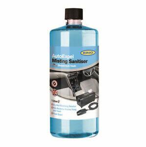 Ring Auto Expel Sanitiser Liquid For Mist Misting Machine 1 Litre Showroom Fresh