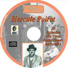 Hercule Poirot - 38 Old Time Radio Shows - Audio MP3 CD OTR Agatha Christie