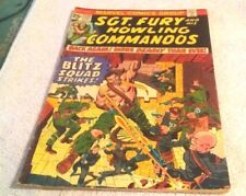 Comic Book Marvel Comic Group Sgt Furry & His Howling Commandos Vol1 # 122 1974
