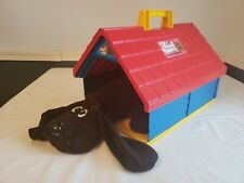 Vintage Pound Puppies Pup's Pad Playset 1986 Tonka Dog House And Puppy Dog Rare!