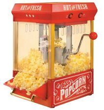 Movie Theater Popcorn Machine Paramount Time Vintage Look Window Kettle Popper