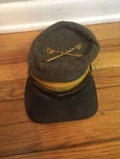 Confederate Civil War Reenactment Kepi Hat Csa Buttons Repro Uniform