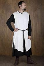 Medieval,Celtic Viking White Tunic Surcoat Renaissance Larp Sca