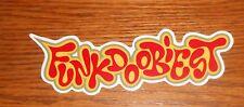 Funkdoobiest Bumper Sticker Promo 5x1.5 Rap RARE
