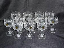 Cristal D'Arques Durand Longchamp Champagne Sherbert Glasses Set of 12