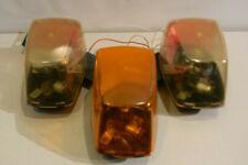 FEDERAL SIGNAL Mini Vector Amber/Clear Halogen Lightbar Securtiy Emergency