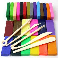 650g 26 Color Horno Hornear Arcilla Polimérica bloque modelización Fundicion Sculpey conjunto de herramientas