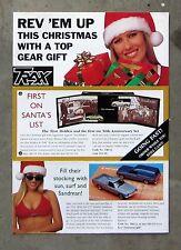 TRAX CHRISTMAS CATALOGUE 1998 brochure 1/43 Diecast model HOLDEN FORD VALIANT V8