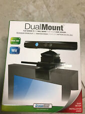 dreamGEAR DualMount TV / Wall Mount for XBox Kinect Move Eye and Wii Sensor