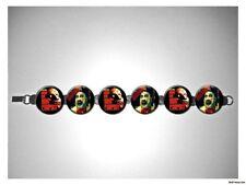 House of 1000 Corpses Rob Zombie Capt Spaulding 8 inch bracelet