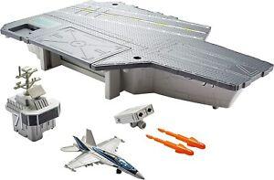 Matchbox Top Gun: Maverick Aircraft Carrier W/ F/A-18 Super Hornet FREE SHIPPING