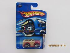 Hot Wheels 2005 BLOCK O WOOD BLINGS FIRST EDITIONS METAL BASE CARS B-DD