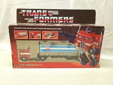Vintage Takara Transformers G1 Optimus Prime Pre-Rub Complete in Box