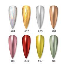 ROSALIND Nail Art Magical Mirror Pigment Pen Nail Gel Chrome Holograph Glitter
